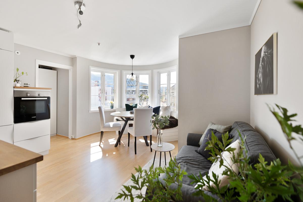 Velkommen til Bjørnsons gate 28B - Presentert av Camilla Dreyer Sindre ved Fana Sparebank Eiendom