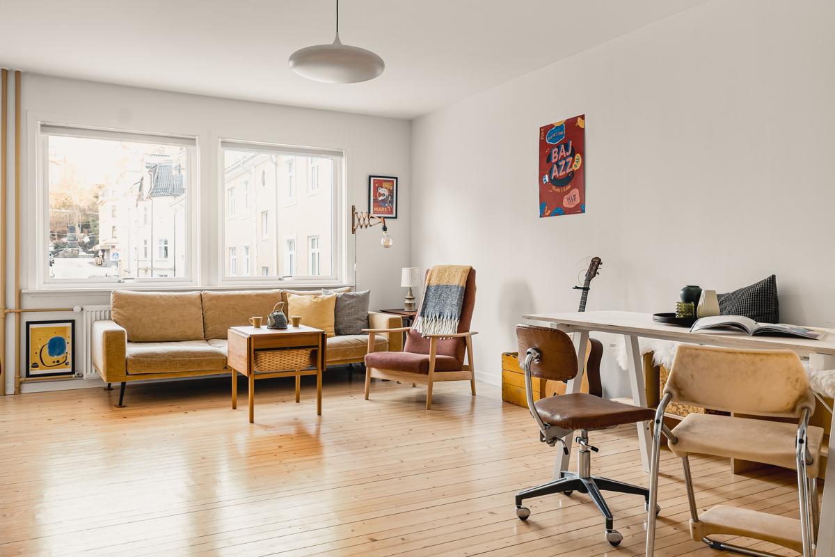 Velkommen til den herlige og spennende leiligheten på Møhlenpris, presentert av Chris-André Grimstad Fana Sparebank Eiendom.