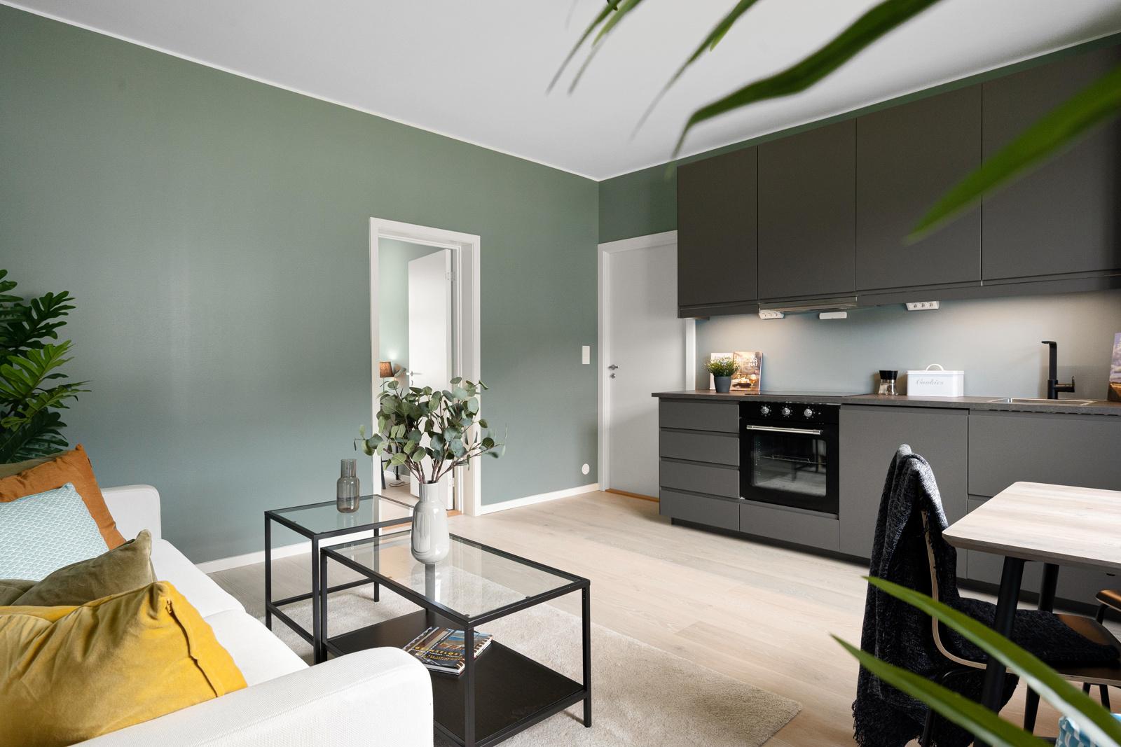 Velkommen til en nyoppusset, delikat 3-roms leilighet like ved Høyskolen på Kronstad(HVL)
