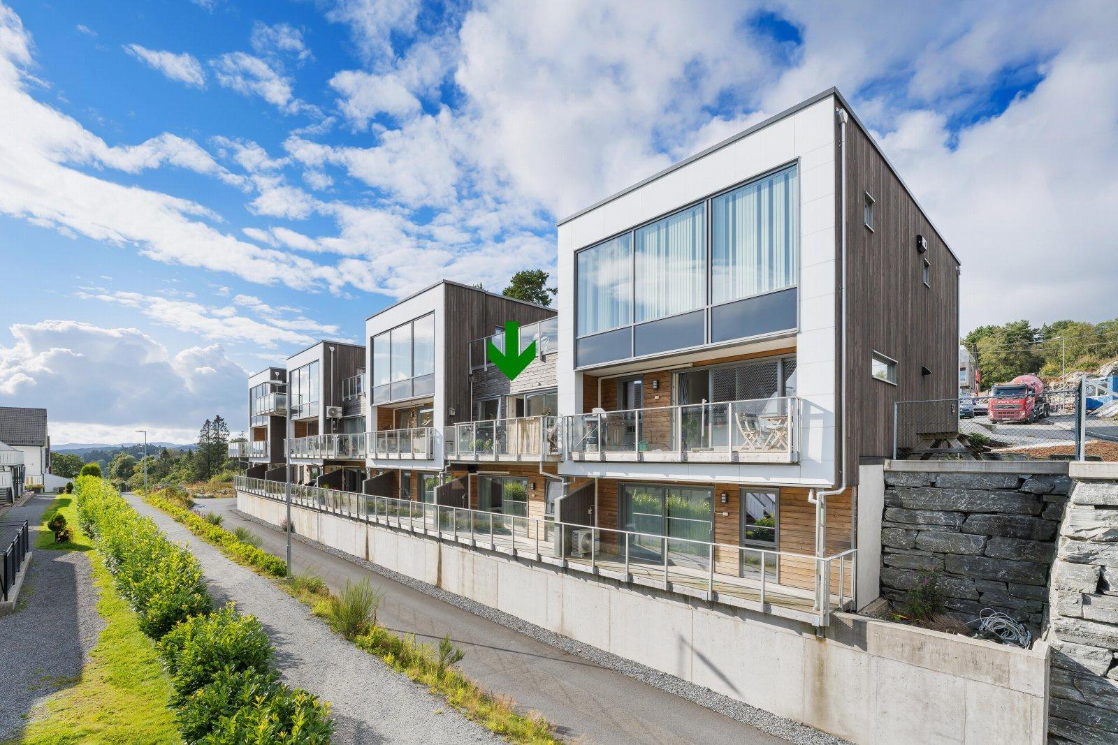 Super 3-roms leilighet med attraktiv beliggenhet